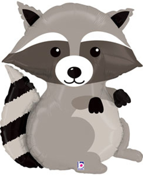 "36"" Woodland Raccoon Super Shape Balloon"