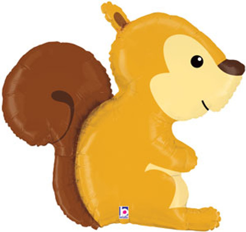 "36"" Woodland Squirrel Super Shape Balloon"