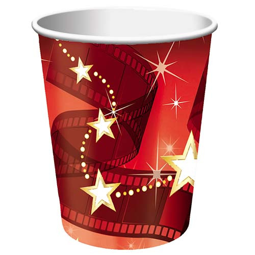 Hollywood Lights 9 oz. Hot/Cold Cups