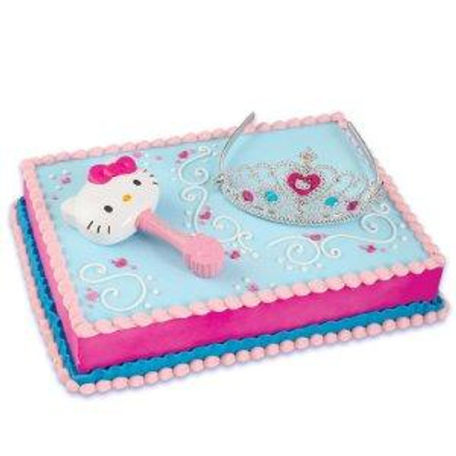 Hello Kitty Princess Cake Decoset