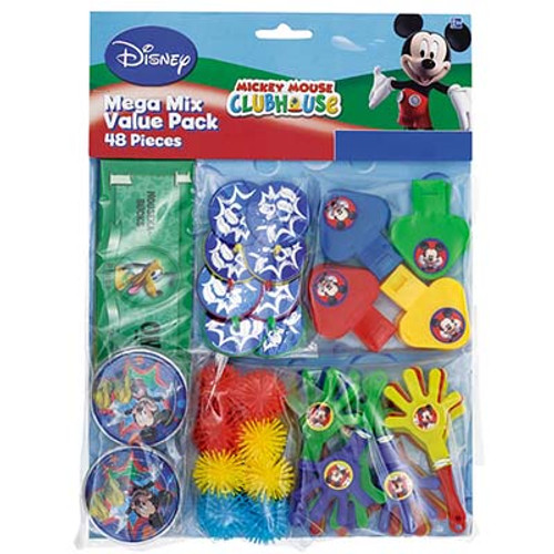 Mickey Mouse Party Favors Value Pack