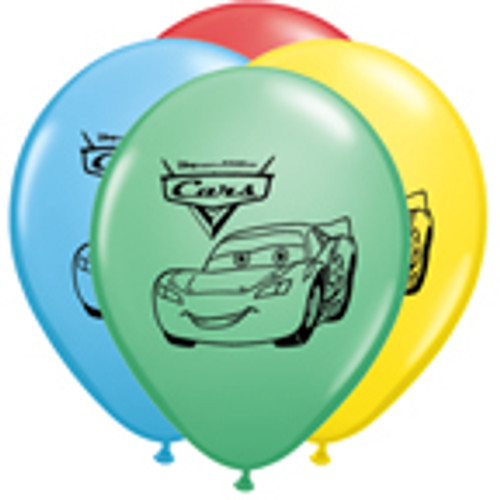 "11"" Disney Cars Latex Balloon"