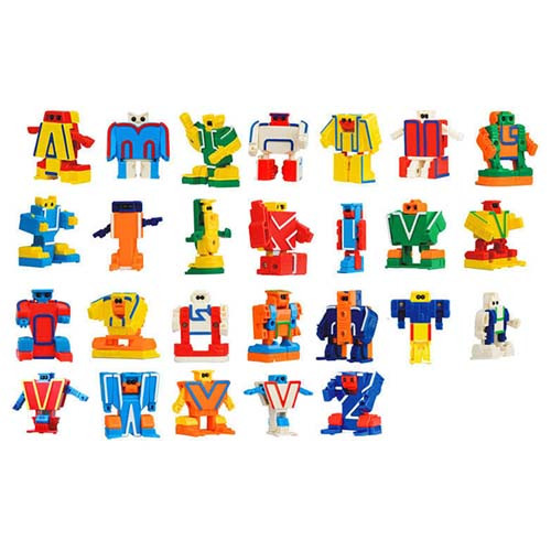 ABC Alphabet Robot Toy 26pcs/set