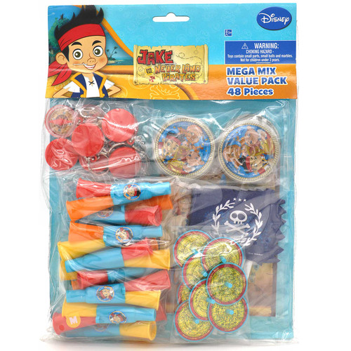 Jake & Never Land Pirates Party Favors Value Pack