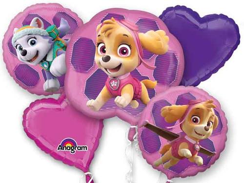 Paw Patrol Girl Balloon Bouquet
