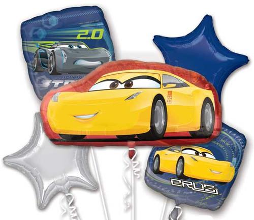 Disney Cars Cruz Balloon Bouquet