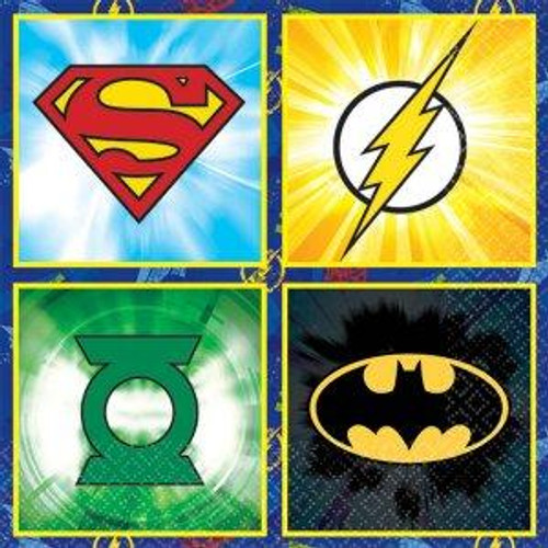 Justice League Beverage Napkins