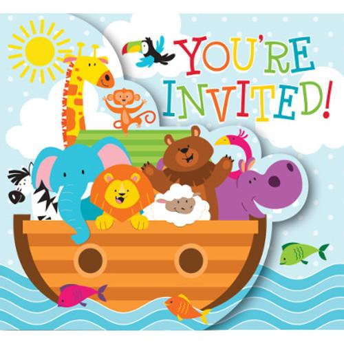 Noah Ark Gatefold Invitations