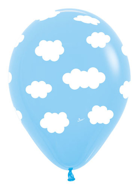 "11"" Clouds Latex Balloon"