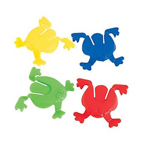 Mini Jumping Toy Frogs