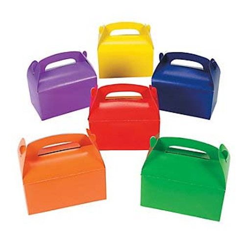 Assorted Color Favor Boxes