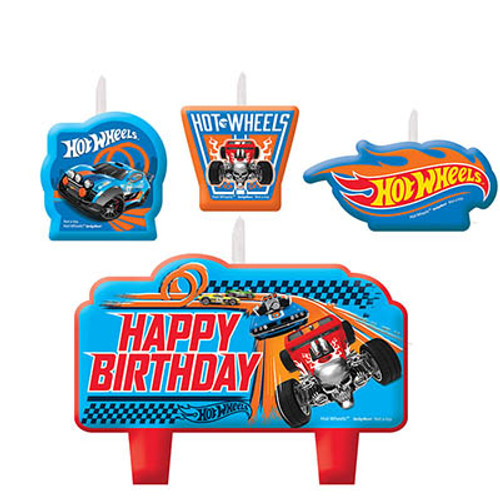Hot Wheels Wild Racer Molded Candle Set