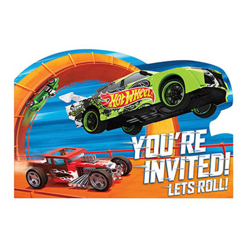 Hot Wheels Wild Racer Invitation Cards & Envelopes