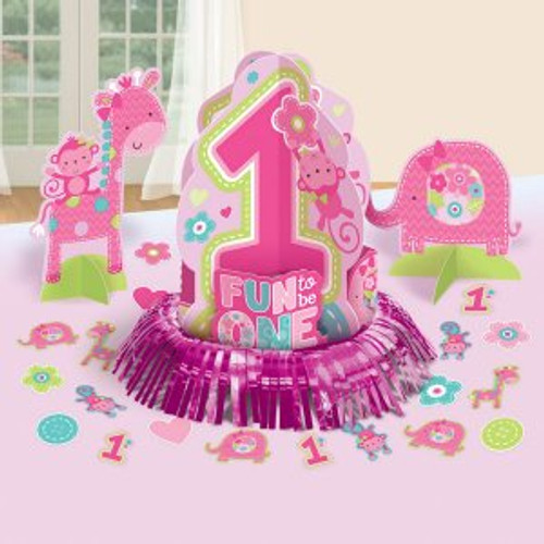 One Wild Girl Table Decorating Kit