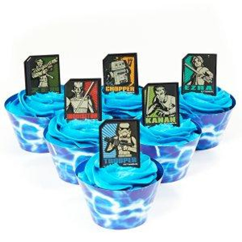 Star Wars Rebels Cupcake Rings