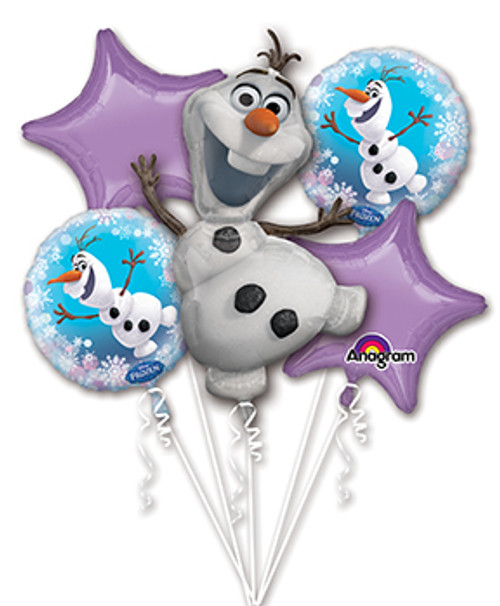 Disney Frozen Olaf Balloon Bouquet