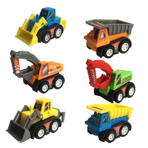 Mini Pullback Construction Vehicle