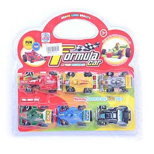 Mini Pullback Racing Cars