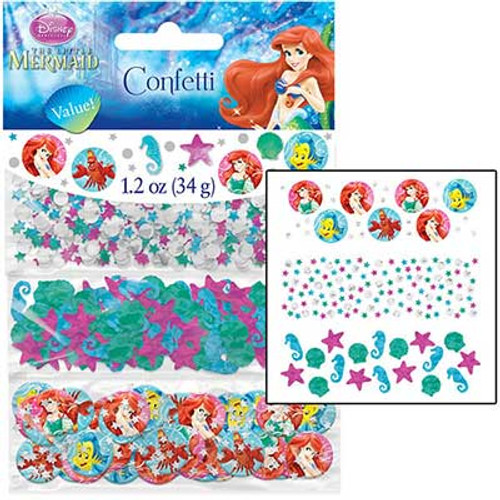 Little Mermaid Ariel Value Confetti Pack