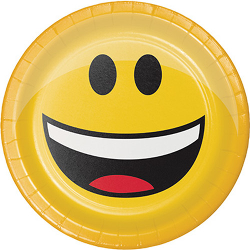 "Show Your Emojions 7"" Lunch Plates Type 1"
