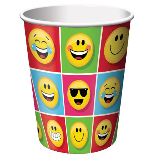 Show Your Emojions 9 oz. Paper Cups