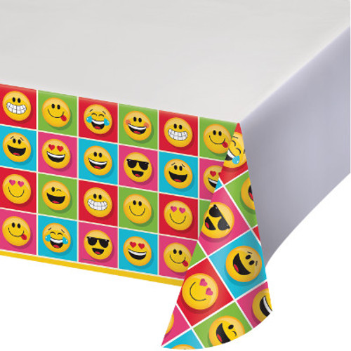 Show Your Emojions Plastic Tablecover