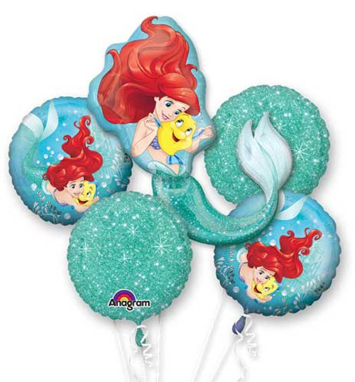 Little Mermaid Ariel Balloon Bouquet