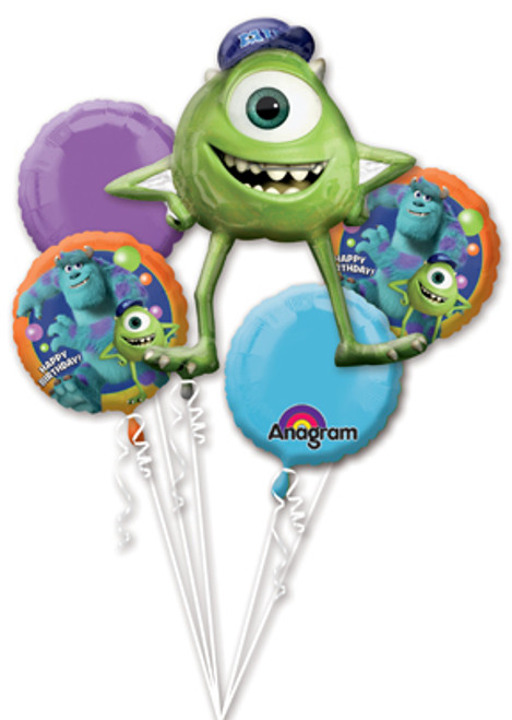 Monsters University Birthday Balloon Bouquet