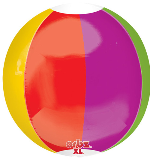 "16"" Beach Ball Orbz Balloon"