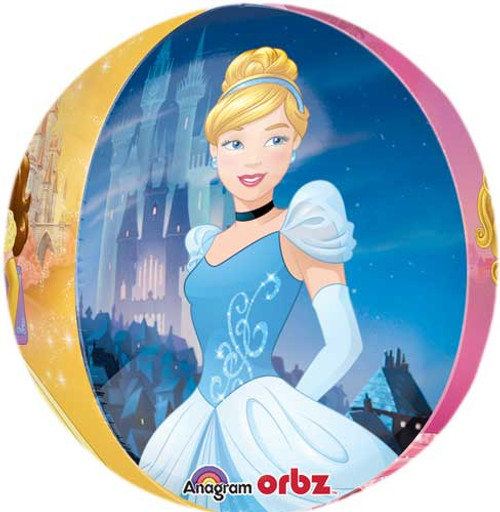 "16"" Disney Princess Portrait Orbz Balloon"