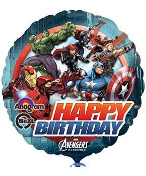 "17"" Avengers Asemble Birthday Balloon"