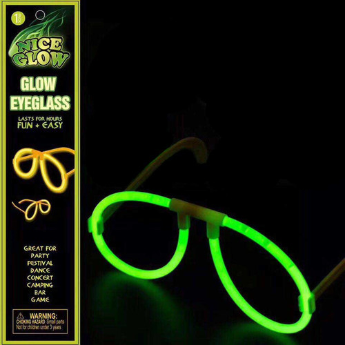 Glow Glasses Assorted Colors 1 set/pack