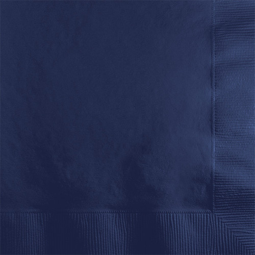 Navy Blue 2-Ply Beverage Napkins