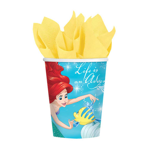 Little Mermaid Ariel Dream Paper Cups