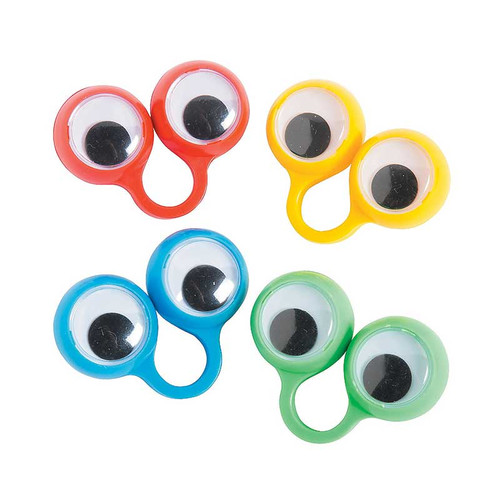 Plastic Eye Peeper Rings