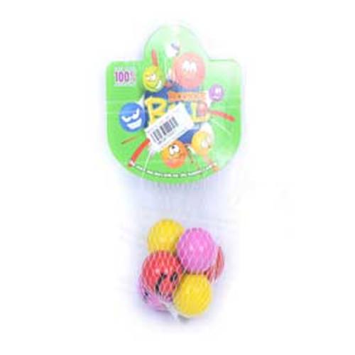 3.3cm Smile Face Bounce Balls