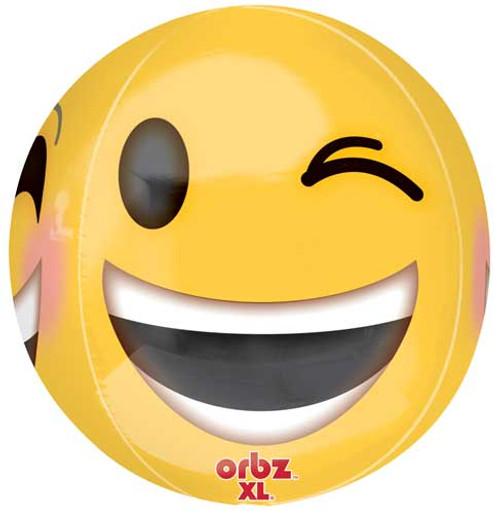 "16"" Emoji Orbz Balloon"