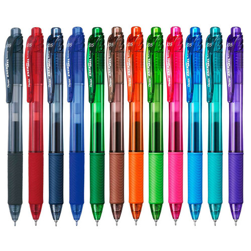 Pentel EnerGel-X Gel Roller Pen 0.5mm BLN105