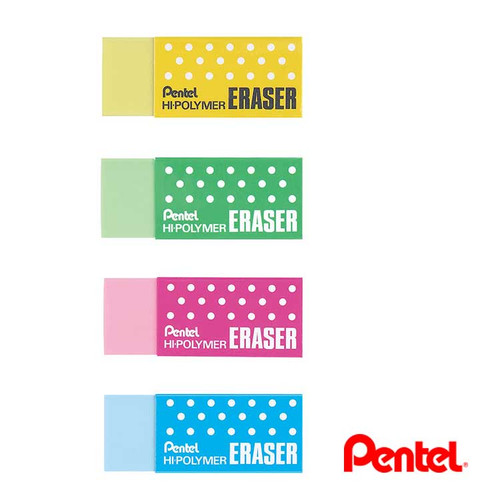 Pentel Hipolymer Eraser Colour Soft