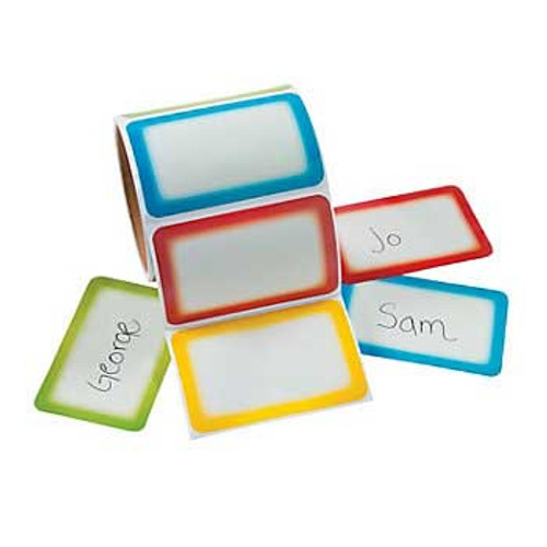Name Tags Sticker 100pcs pcs/roll