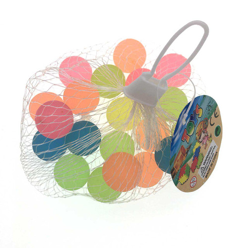 2.5cm Solid Color Bounce Balls 20pcs/pack