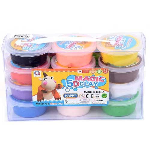 Magic Clay 12 colors/box