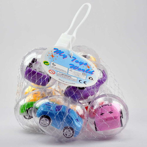 Capsule Pullback Car Toy 8pcs/pack