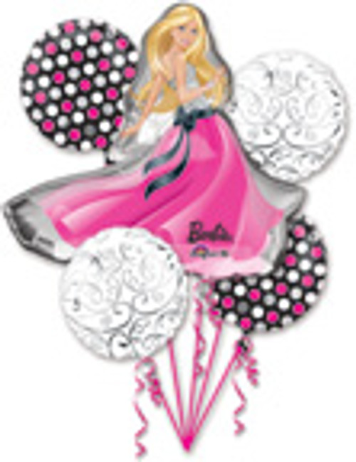 Barbie Glamour Balloon Bouquet