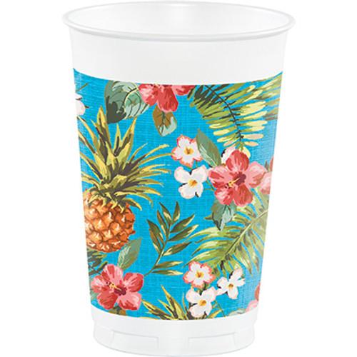Aloha 16 oz. Printed Plastic Cups