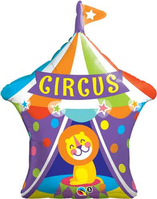 "36"" Big Top Circus Lion Super Shape Balloon"