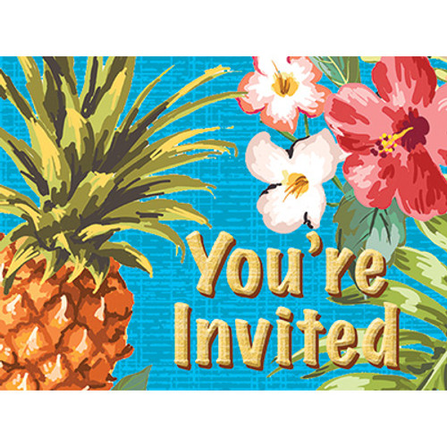 Aloha Postcard Invitations