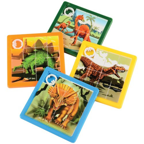 Dino Slide Puzzles