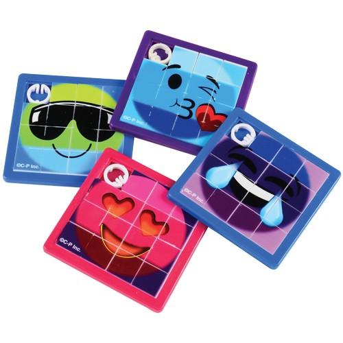 Rainbow Emoji Slide Puzzles