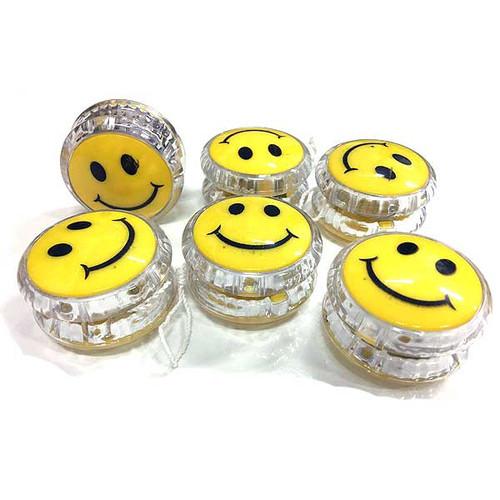 Smiley Face Yo Yo 6pcs/pack